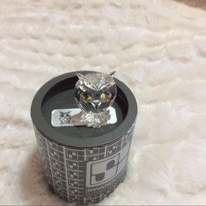 Swarovski Crystal Mini Owl